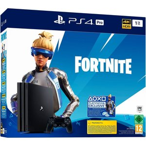 Sony PlayStation 4 Pro Jet Black 1TB Bundle Fortnite Neo Versa