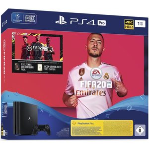 Sony PlayStation 4 Pro Jet Black 1TB Bundle inkl. FIFA 20