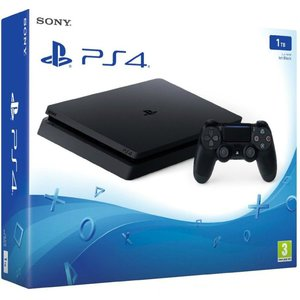 Sony PlayStation 4 Slim Jet Black 1TB