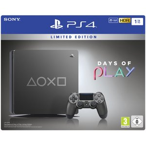 Sony PlayStation 4 Slim Titan Limited Edition Days of Play 1TB