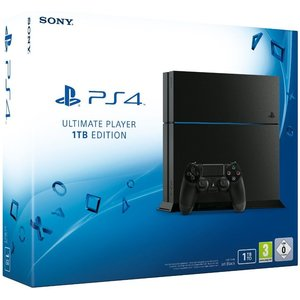 Sony PlayStation 4 Ultimate Player 1TB Edition (neues Modell) Jet Black 1TB