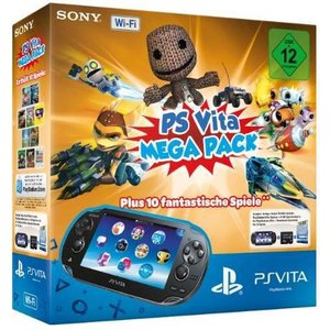 Sony PlayStation Vita Wi-Fi Mega Pack
