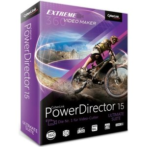 CyberLink PowerDirector 15 Ultimate Suite (PC)