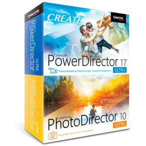 CyberLink PowerDirector 17 Ultra & PhotoDirector 10 Ultra Duo Software (PC)