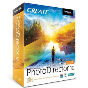 PhotoDirector 10 Ultra Vollversion MiniBox (PC)