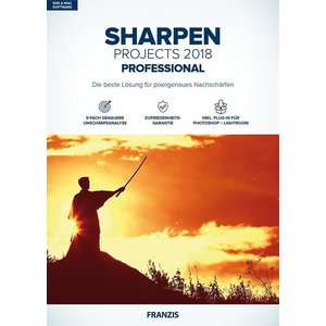 SHARPEN projects professional 2018 (PC, Mac)