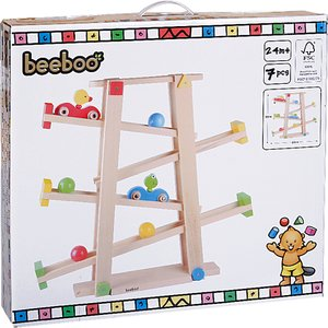 The Toy Company BEEBOO Kugelbahn Frosch & Ente H 55 cm