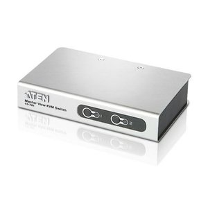 Aten CS-72EC Grau Tastatur/Video/Maus KVM-Switch