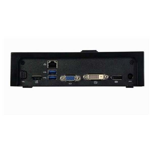 Dell Einfacher E-Port Replikator II (VGA, Display Port, DVI-D, 130 Watt, USB 3.0)
