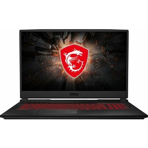 MSI GL75 10SER 072 Leopard - Core i7 10750H / 2.6 GHz - Windows 10 Home - 16 GB RAM - 512 GB SSD NVMe - 43.9 cm (17.3) 1920 x 1080 (Full HD) - GF RTX 2060 - Wi-Fi, Bluetooth - Schwarz (0017E7-072)