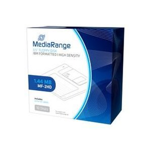 Diskette mediarange floppy disc 1.44mb 10er pack (mr200)