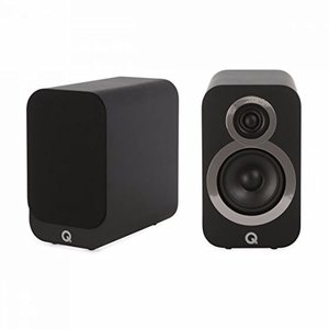 Q Acoustics 3010i Grafit Regallautsprecher - 15 Watt