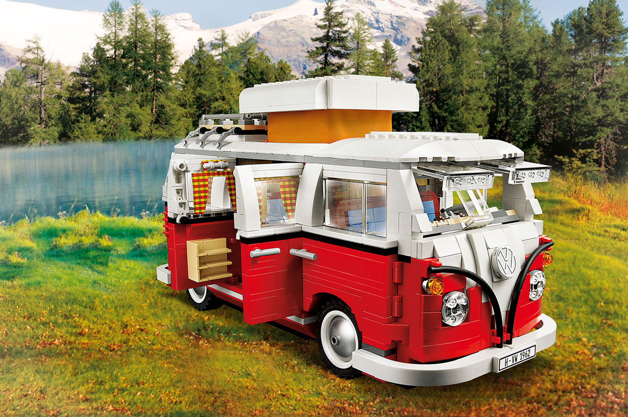 lego creator volkswagen t1 campingbus 10220 tests. Black Bedroom Furniture Sets. Home Design Ideas