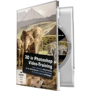 4eck 3D in Photoshop-Video-Training (PC, Mac)