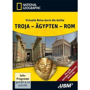 Die große National Geographic History Box (5 DVD-ROMs) (PC)