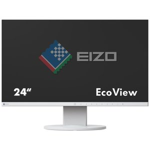 Eizo FlexScan EV2450 (EV2450-WT) - 23,8 Zoll, Full HD (1920 x 1080), IPS-Panel, 60Hz, 5ms, 250cd/m²