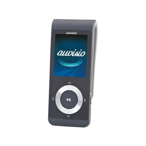 auvisio DMP-320.bt V2 MP4-Player mit Bluetooth, FM-Radio, Video + 16GB MicroSD Speicherkarte Musik hören Audio MP3 Player