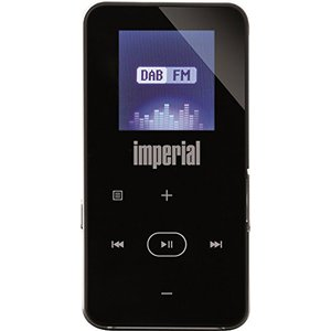 Imperial DABMAN 2 mobiles Digitalradio mit MP3-Player (DAB+-UKW, micro USB, LCD Display, Akku, Bluetooth und FM Transmitterfunktion) schwarz