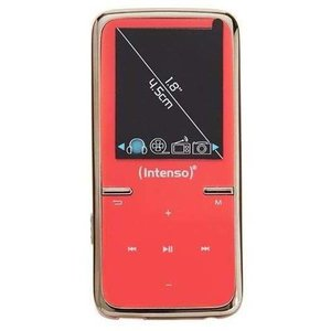 Intenso Video Scooter MP3-Videoplayer (4,5 cm (1,8 Zoll) Display inkl. 8GB micro SD-Karte) pink