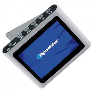 Roadstar MP-450-PU Mini MP3-Player (4,6 cm(1,8 Zoll) TFT-Display, FM-Radio, USB 2.0) lila