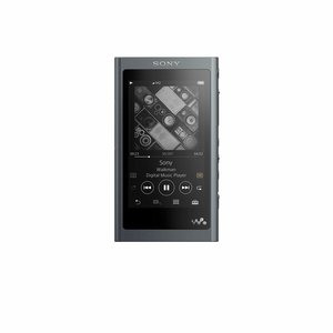 Sony NW-A55LB Walkman (16 GB, Hi-Res, Touch Screen, Bluetooth, NFC, microSD-Slot, Vinyl Processor), schwarz