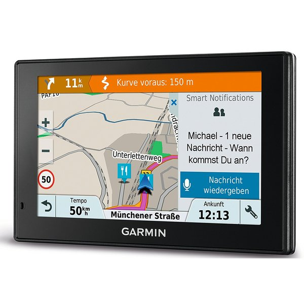 garmin drivesmart 51 lmt d eu tests infos 2018. Black Bedroom Furniture Sets. Home Design Ideas