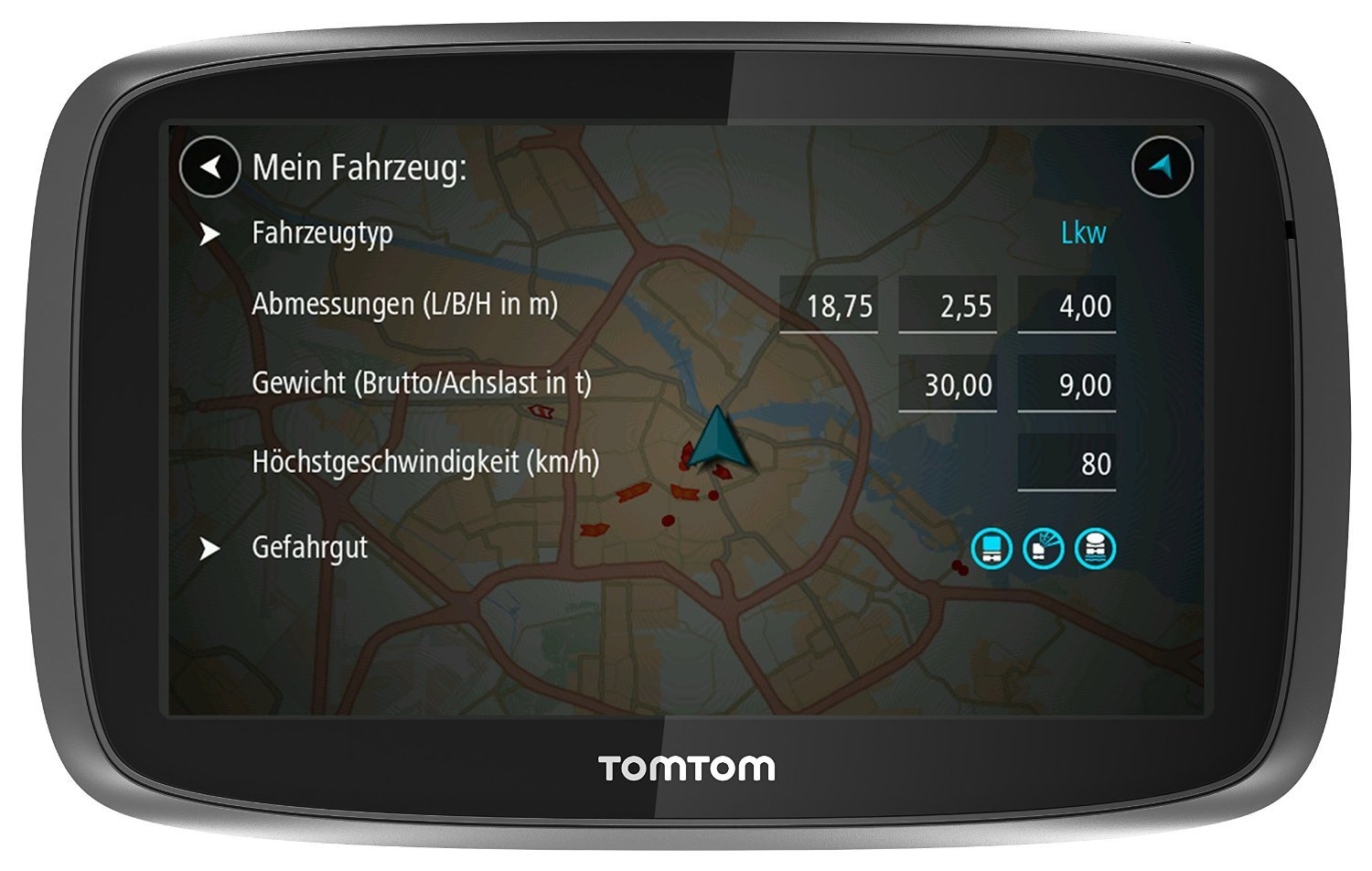 tomtom trucker 6000 tests infos 2018. Black Bedroom Furniture Sets. Home Design Ideas