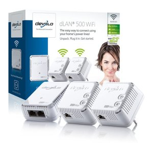 Devolo 09093 DLAN 500 WIFI Network KIT