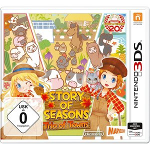 Story of Seasons - Trio of Towns (3DS)