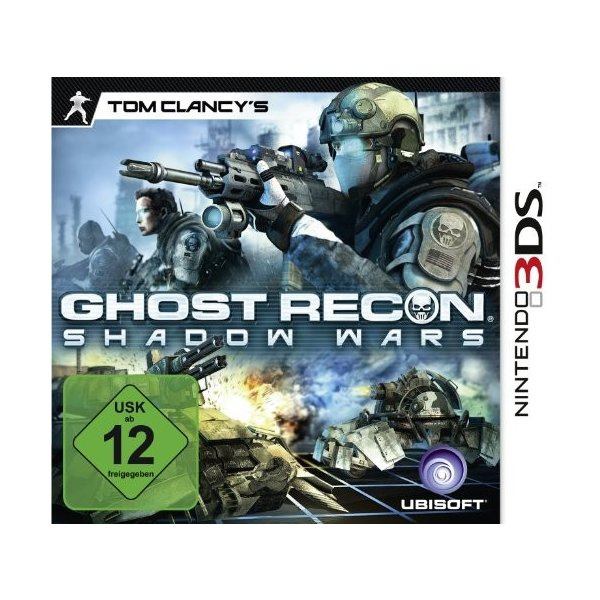 Tom Clancys Ghost Recon - Shadow Wars (3DS)
