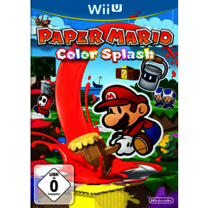 Paper Mario - Color Splash (Wii U)