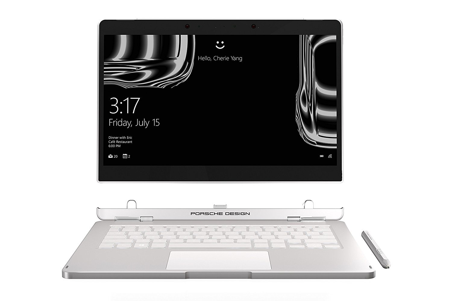 Porsche Design Book One, 512 GB SSD, 16GB RAM: 7 Tests & Infos 2018 ...