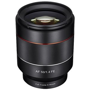 Samyang 50 mm / F 1.4 AS UMC Autofokus für Sony E-Mount