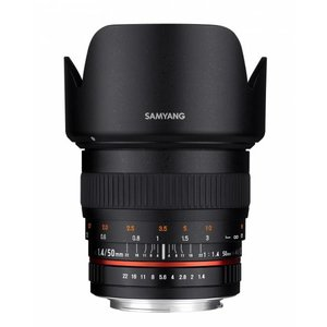 Samyang 50mm F1.4 AS UMC für Four Thirds