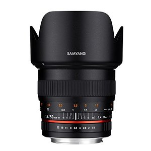 Samyang 50mm F1.4 AS UMC für Sony A-Mount