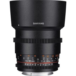 Samyang 85mm T1.5 VDSLR AS IF UMC II für Sony E-Mount