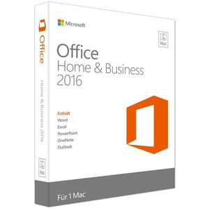 Microsoft Office 2016 Home & Business, PKC (Mac)