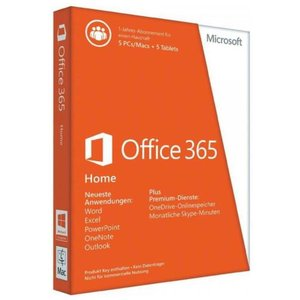 Microsoft Office 365 Home, PKC (PC)