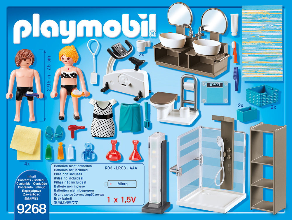 PLAYMOBIL - Badezimmer 9268: Tests & Infos
