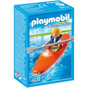 PLAYMOBIL - Kinder-Kajak 6674