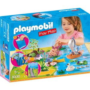 PLAYMOBIL - Play Map Feenland 9330