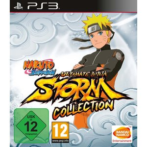 Naruto Shippuden Ultimate Ninja Storm Collection (1 + 2 + 3 Full Burst) (PS3)