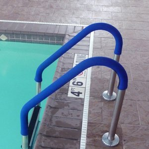 Blue Wave ne1251 blau Grip für Pool, Handläufe 4-feet