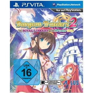 Dungeon Travelers 2 - The Royal Library & The Monster Seal (PS Vita)