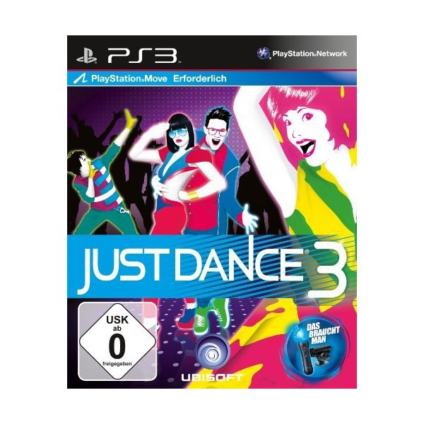 Just Dance 3 (Move) (PS3)