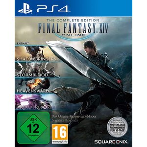 Final Fantasy XIV Online - The Complete Edition (inkl. Realm Reborn, Heavensward, Stormblood, Shadowbringers) (PS4)