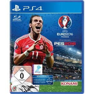 Pro Evolution Soccer 2016 - UEFA Euro 2016 France (PS4)
