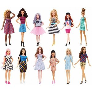 Mattel - Barbie - Fashionistas Puppen Sortiment