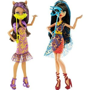 Mattel - Monster High - Willkommen an der Monster High Puppen Sortiment
