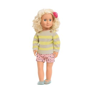 Our Generation - Steffie Puppe 46 cm mit Shorts und Sweater